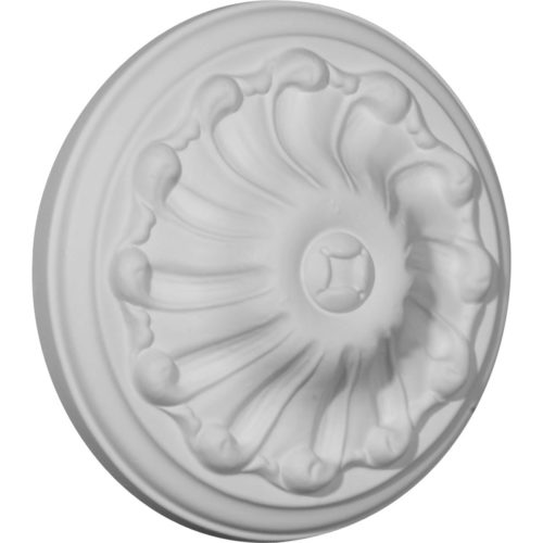 Delf decorative ceiling medallion is classic reproduction of historical designs