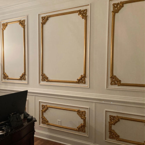 Molding and Corners Installation