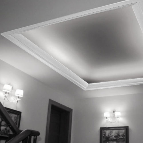 molding for indirect lighting