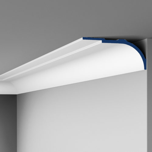 "large crown molding (7"" to 10""F)"