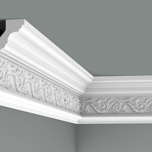 "medium crown molding (5"" to 7""F)"