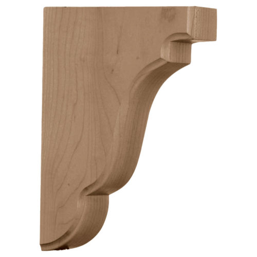 This authentic wood Olympia bracket is the perfect choice for supporting countertops and shelving. With the proper installation, these wood brackets can support up to 250lbs