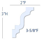 classic 2 step molding profile